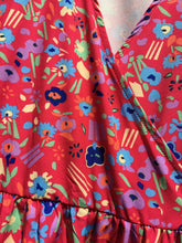 Load image into Gallery viewer, Fairly Made Floral Wrap Dress