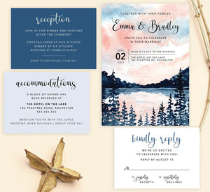 Lakeside Wedding Set