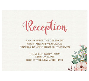 Rose Wreath Reception