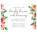 Load image into Gallery viewer, Watercolor Roses Reception