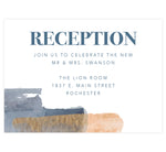 Load image into Gallery viewer, Blue and Gold Watercolor Reception