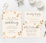 Load image into Gallery viewer, Elegant celebration wedding set mockup