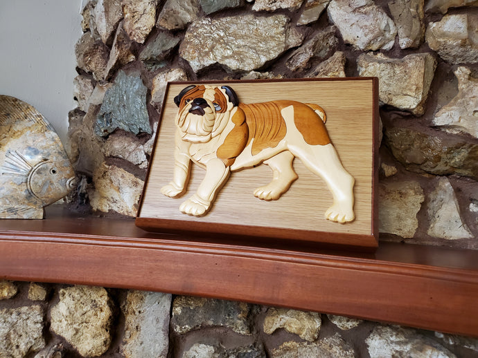 A Handmade Pet Urn for your Bulldog