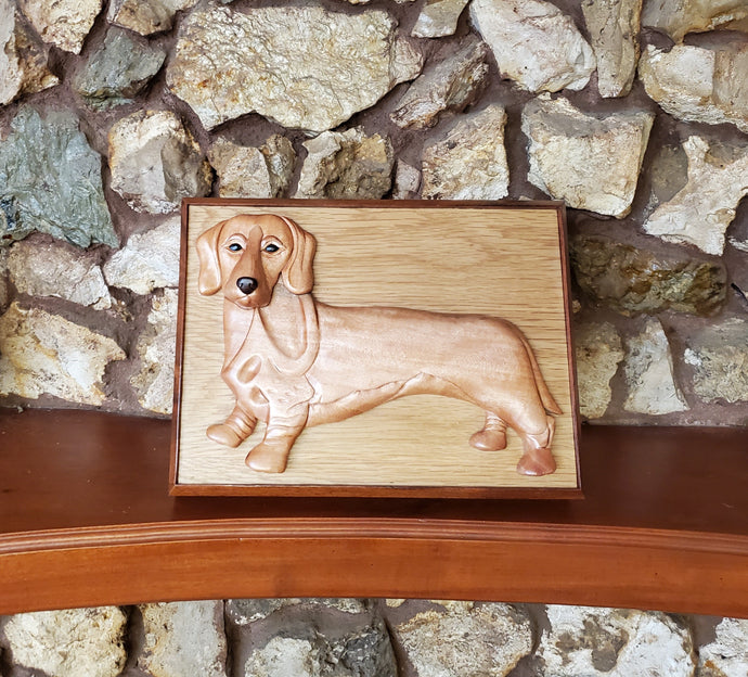 A Handmade Pet Urn Featuring Your Breed's Portrait