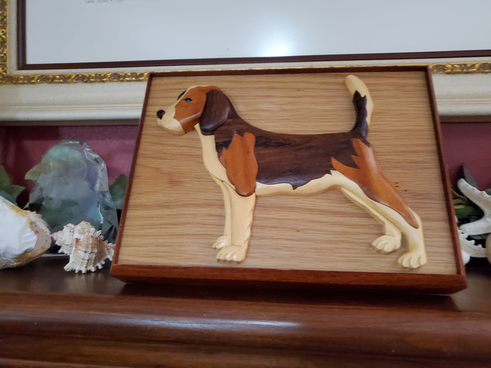 A Hand Carved Beagle Urn Will Help You Remember Your Dog Forever