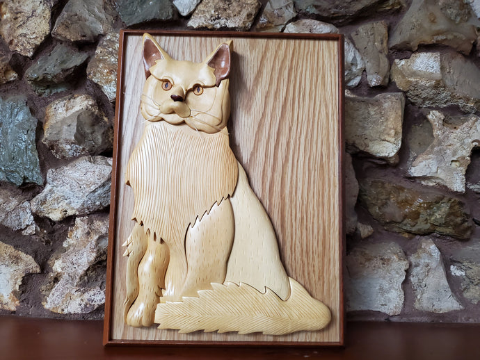 Comfort In A Handmade Piece of Art Remembering Your Cat