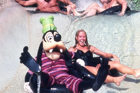 Goofy at Walt Disney World's River Country