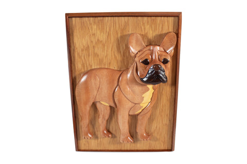 Frenchie Cremation Box