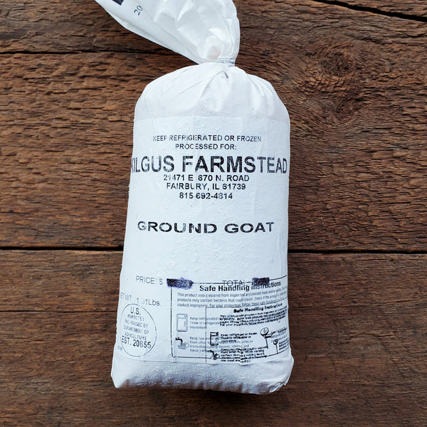 Ground Goat - 1 lb