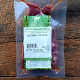 Grassfed Beef Stew Meat - 12 oz