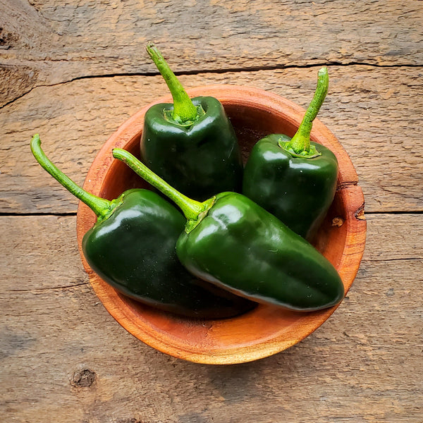 Poblano Peppers - 1/2 lb