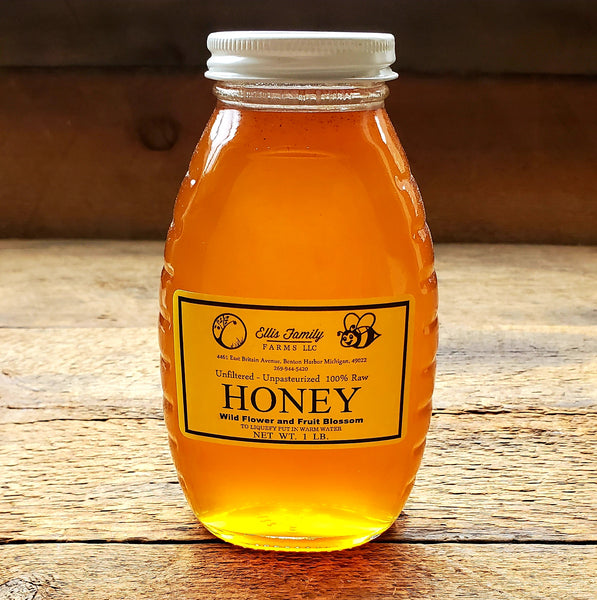 Ellis Farms Honey - 1 lb