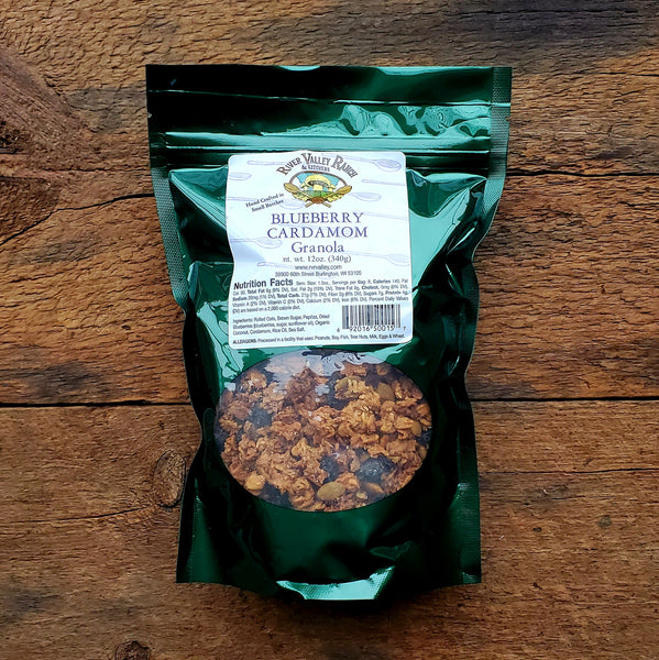 Blueberry Cardamom Granola - 12 oz