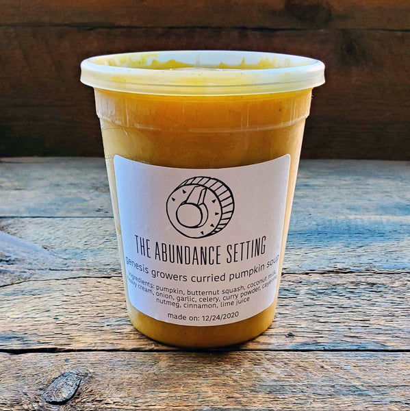 Curried Pumpkin Soup - 32 oz