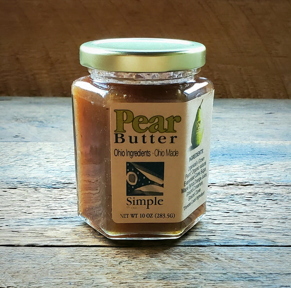 Pear Butter - 10 oz