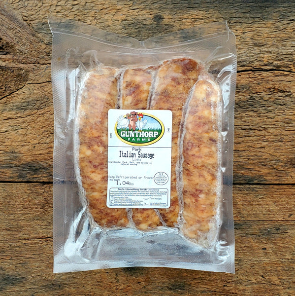 Italian Pork Sausage Links ~ 1 lb