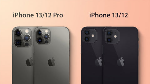 Comparison between the iPhone 12 and 13