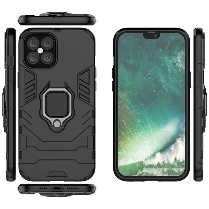 FinestBazaar Back Cases Black iPhone 11 Case Shockproof Protective Back Cover