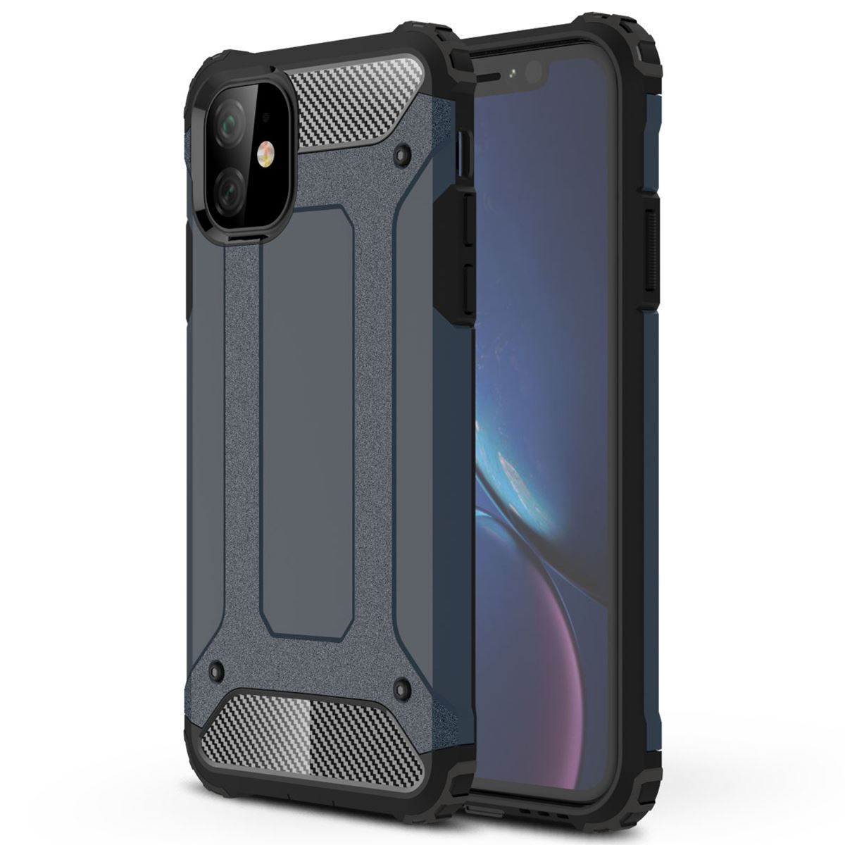 iPhone 11 Case Shockproof Protective Cover - Black