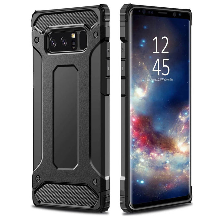 FinestBazaar Back Cases Black Samsung S9 Case Shockproof Protective Cover