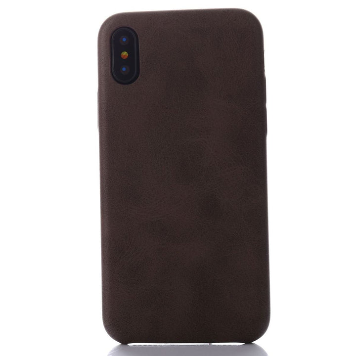 FinestBazaar Back Cases Brown iPhone 6 Case Leather Thin Slim Back Cover