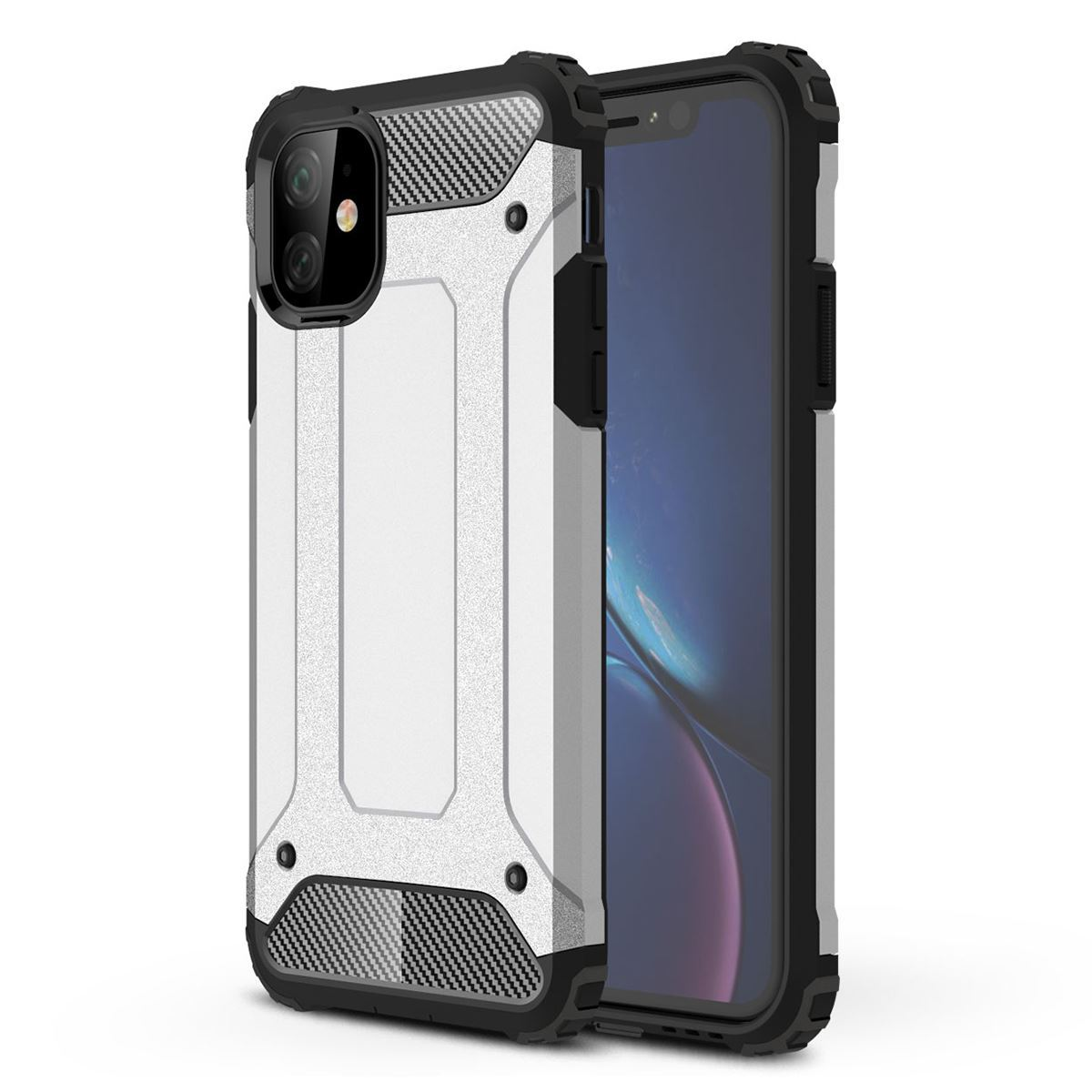 iPhone 11 Case Shockproof Protective Cover - Grey