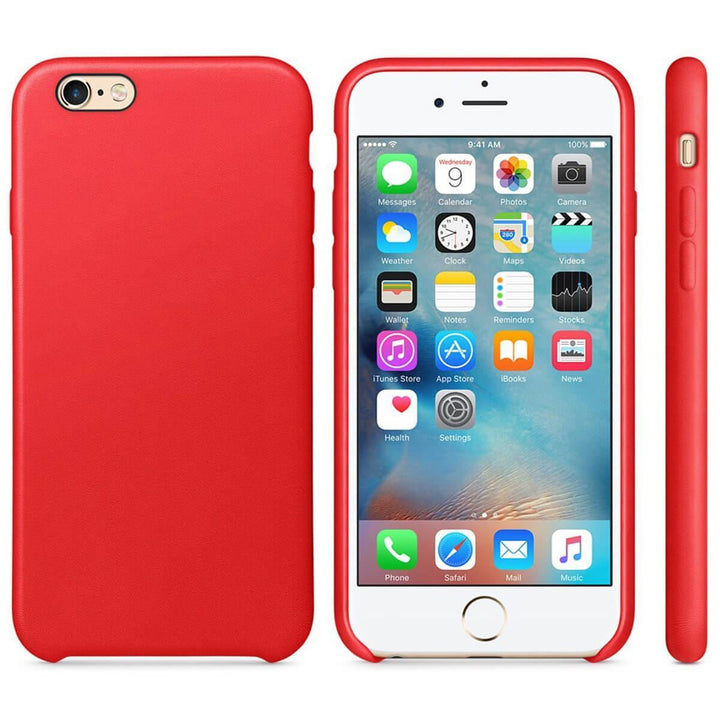 FinestBazaar Back Cases Red iPhone SE 2020 Case Silicone Back Soft Rubber Cover