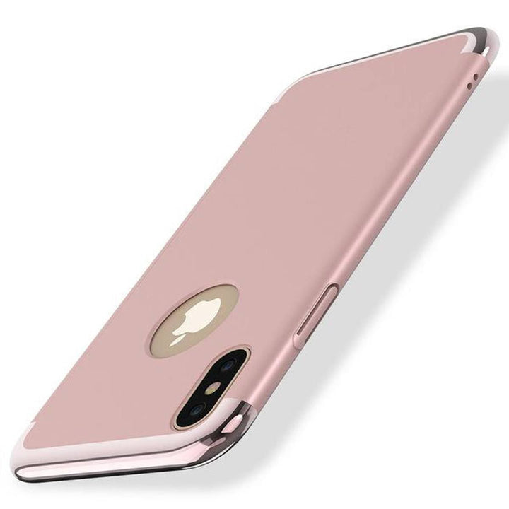 FinestBazaar Back Cases Rose Gold iPhone 8 Case Protective Luxurious Back Cover