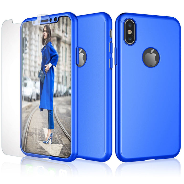 FinestBazaar Hybrid Cases Blue iPhone 6 Plus Case Hybrid Protective Thin Cover