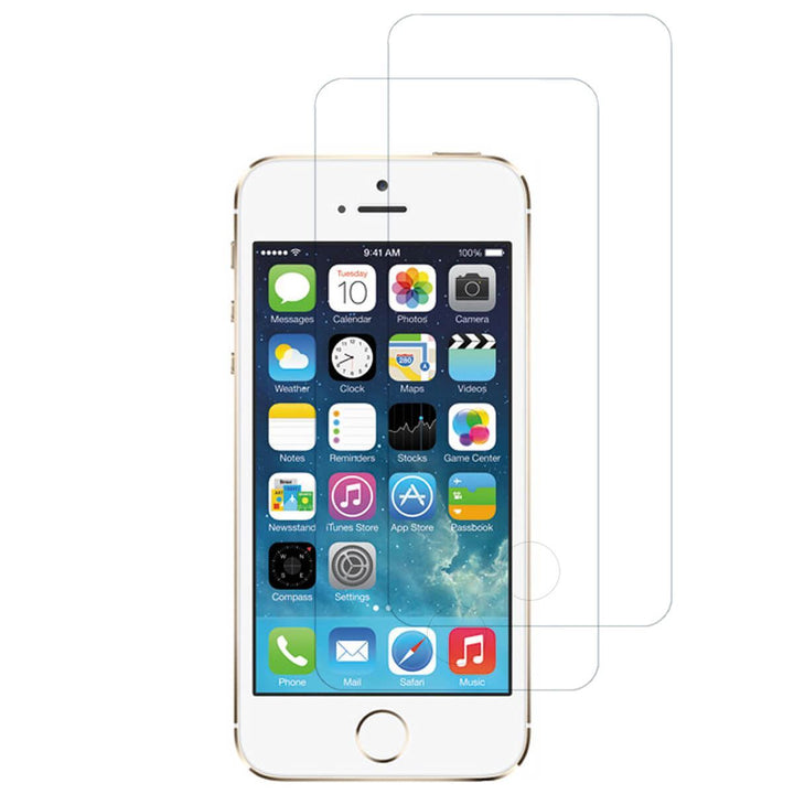FinestBazaar Screen Protectors iPhone 5c Tempered Glass Screen Protector 2 Pack