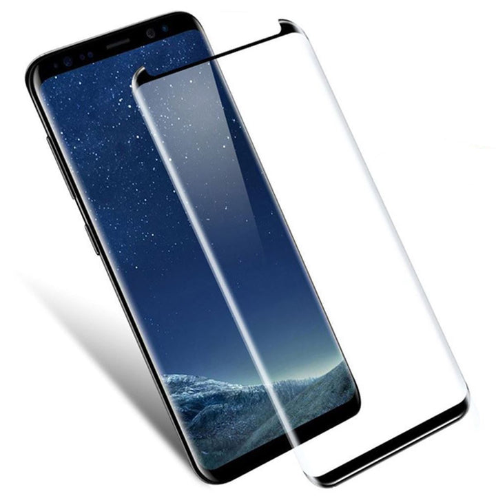 Samsung S7 Edge Tempered Glass Screen Protector - Black Border