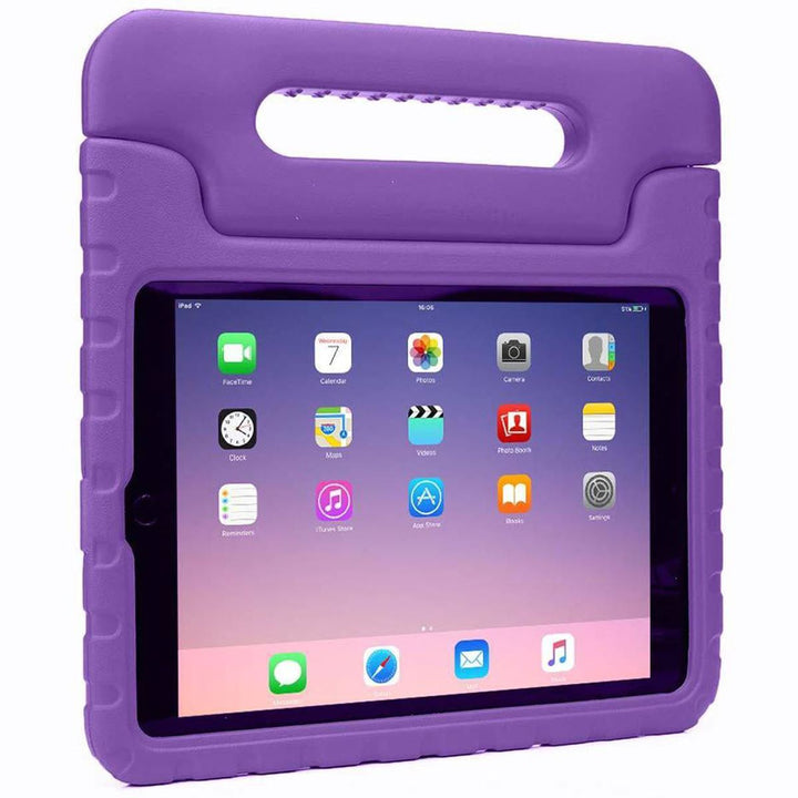 FinestBazaar Stand Cases Purple iPad Air 2 Case Kids Shockproof Cover