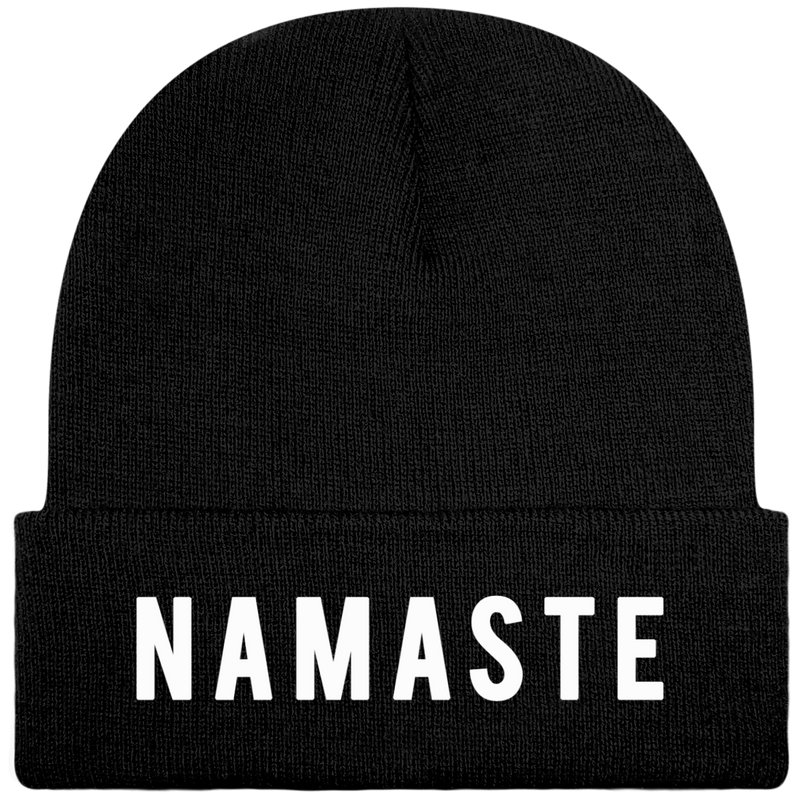 Bonnet NAMASTE Black - STAY POSITIVE
