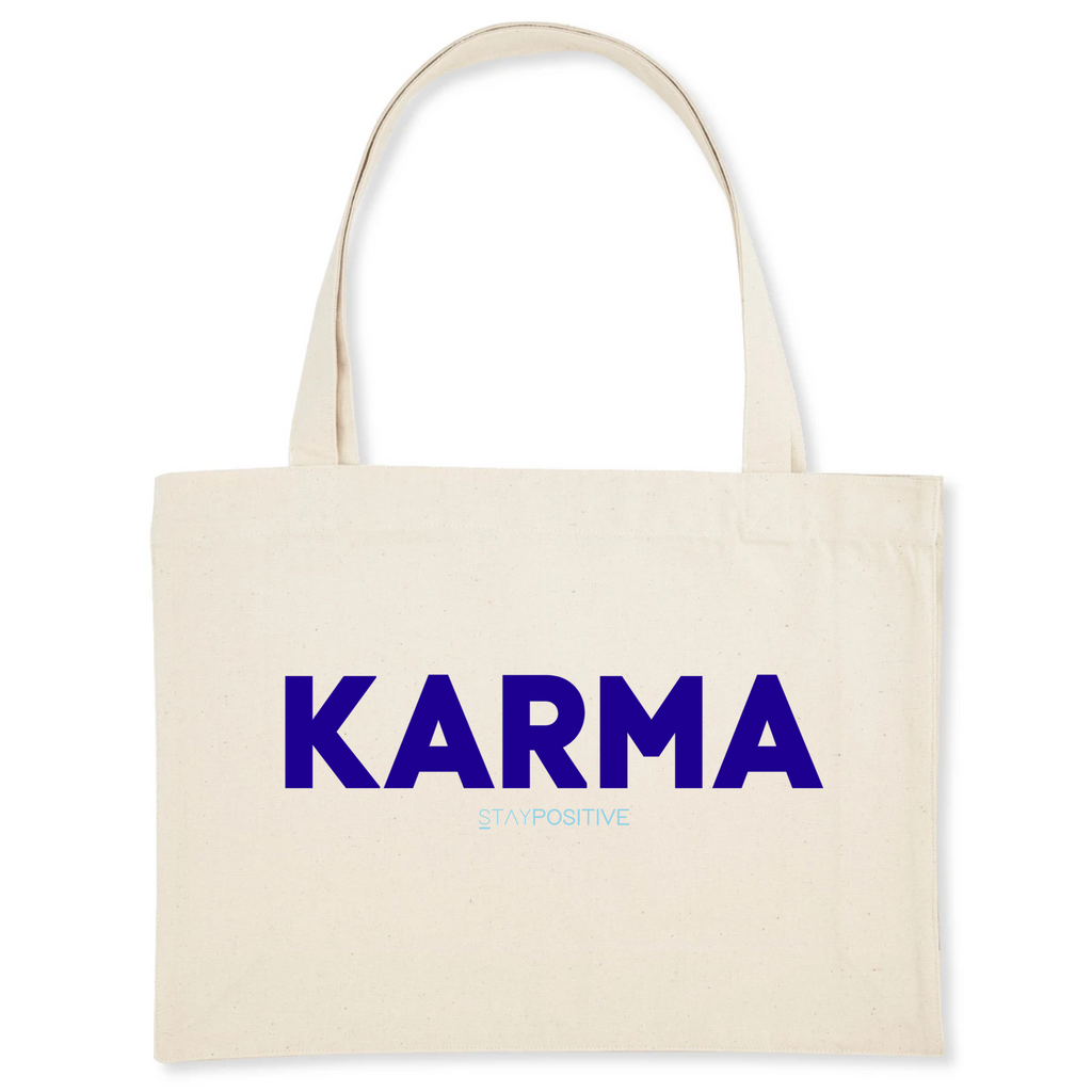 Cabas KARMA STAY POSITIVE