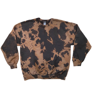 Superstar Crewneck - Black Bleach