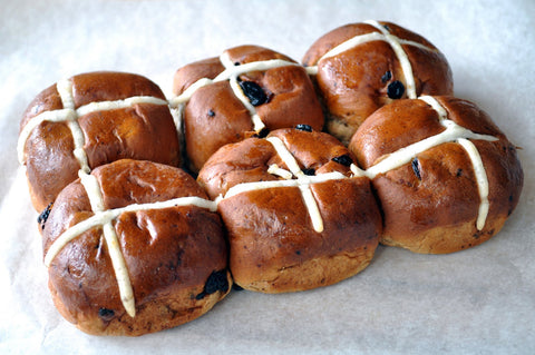 Hot Cross Buns (4x6 Pack Deal)