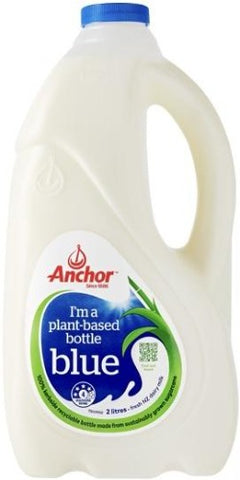 Anchor Blue Milk 2L (Plant Based Bottle)