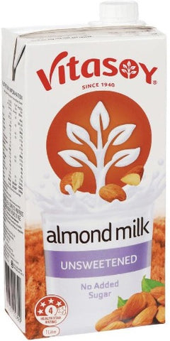 Vitasoy Almond Milk (Unsweetened) 1L