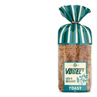 Vogel's Toast Bread Soy & Linseed, 720g