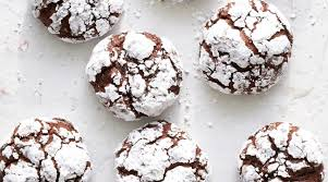 Chocolate Crackle Cookies, 6 per bag