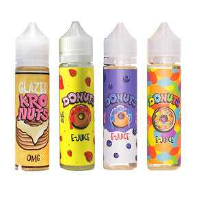 Donuts By Marina Vapes 0mg 60ml Shortfill
