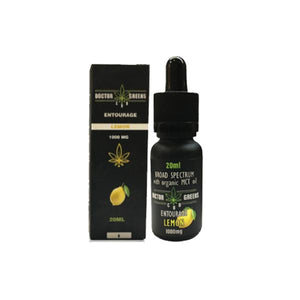 Doctor Green's CBD Drops Tinctures 1000mg 20ml