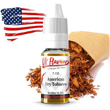Load image into Gallery viewer, UK Flavour Tobacco Range Concentrate 0mg 10 x  10ml (Mix Ratio 15-20%)