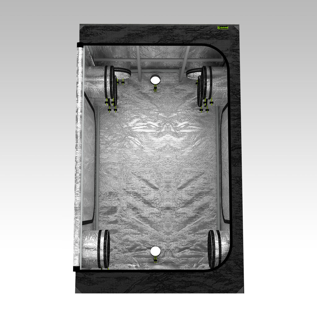 1.2m Grow Tent | 1.2m x 1.2m x 2m | LAB120-XL | Centre View