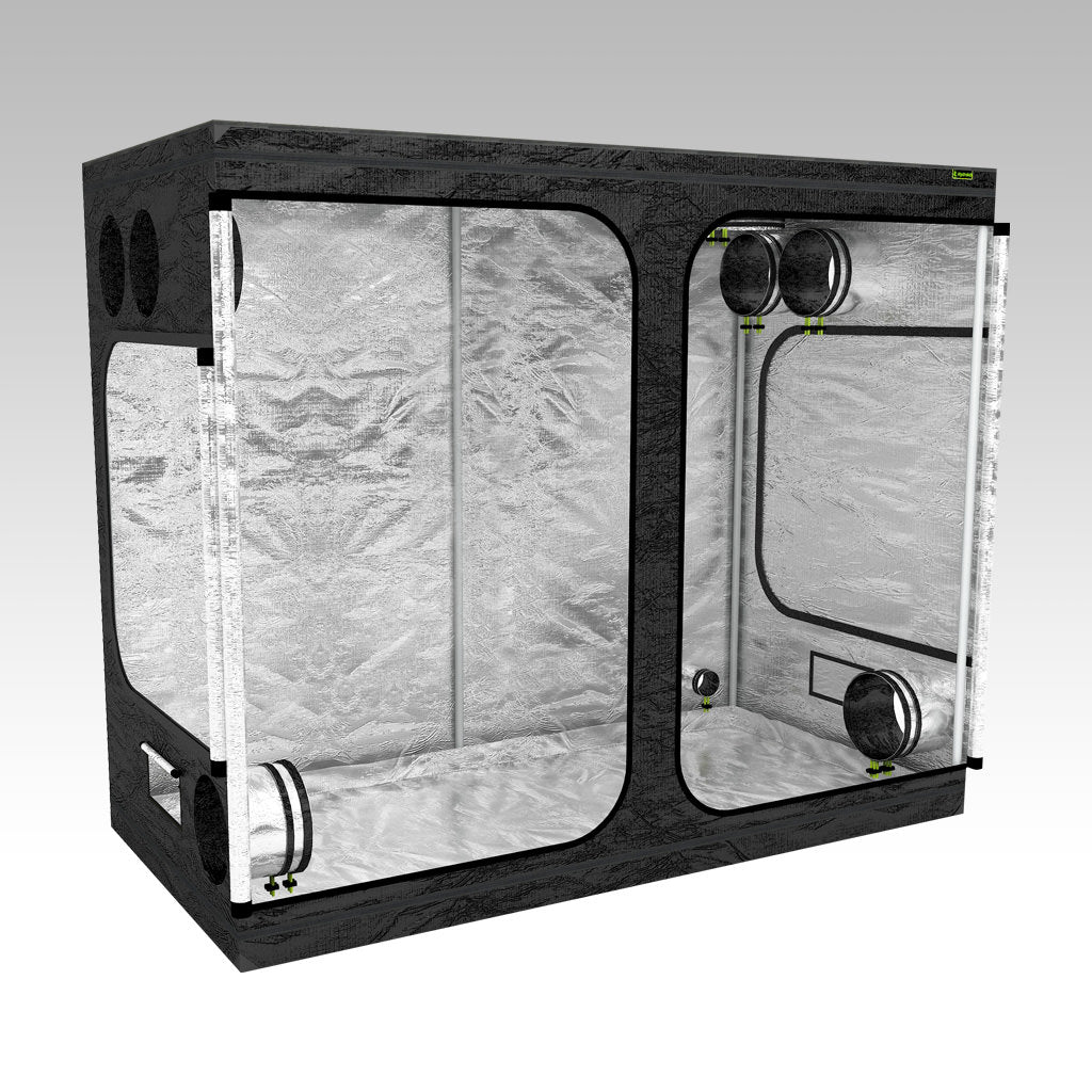 2m x 1m Grow Tent | 2m x 1m x 2m | LAB200-S | Left View