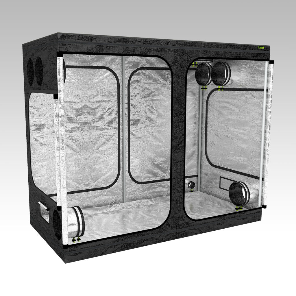 2.4m x 1.2m Grow Tent | 2.4m x 1.2m x 2m | LAB240-S | Left View