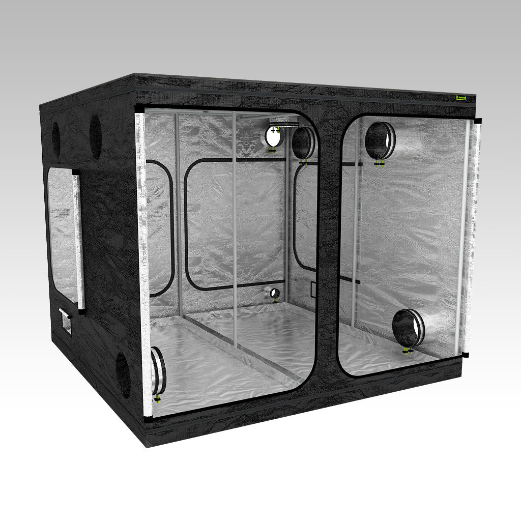 2.4m Grow Tent | 2.4m x 2.4m x 2m | LAB240 | Left View