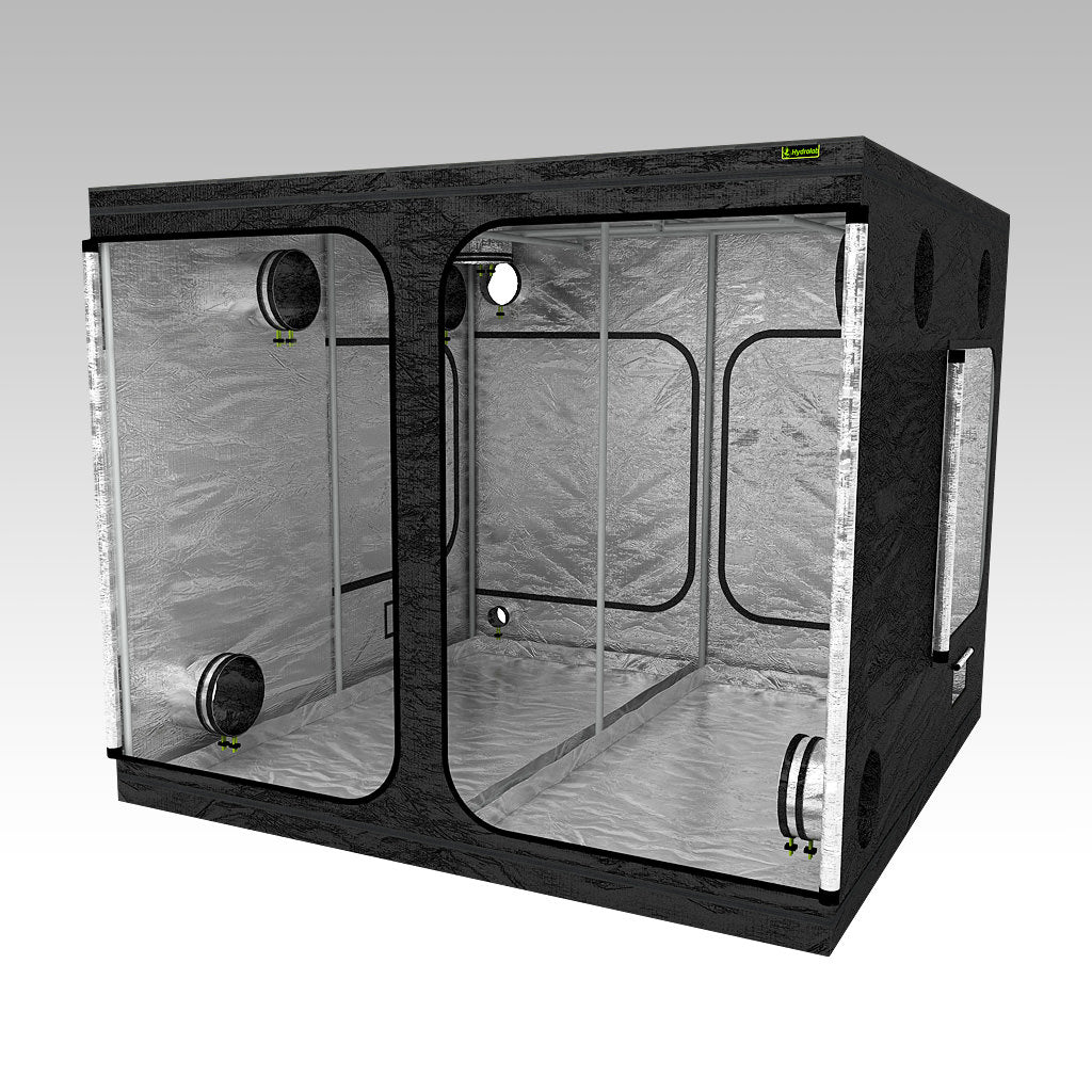 2.4m Grow Tent | 2.4m x 2.4m x 2m | LAB240 | Right View