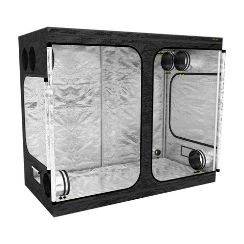 LAB160-SXL Grow Tent | 1.6m x 0.8m x 2m | Left View