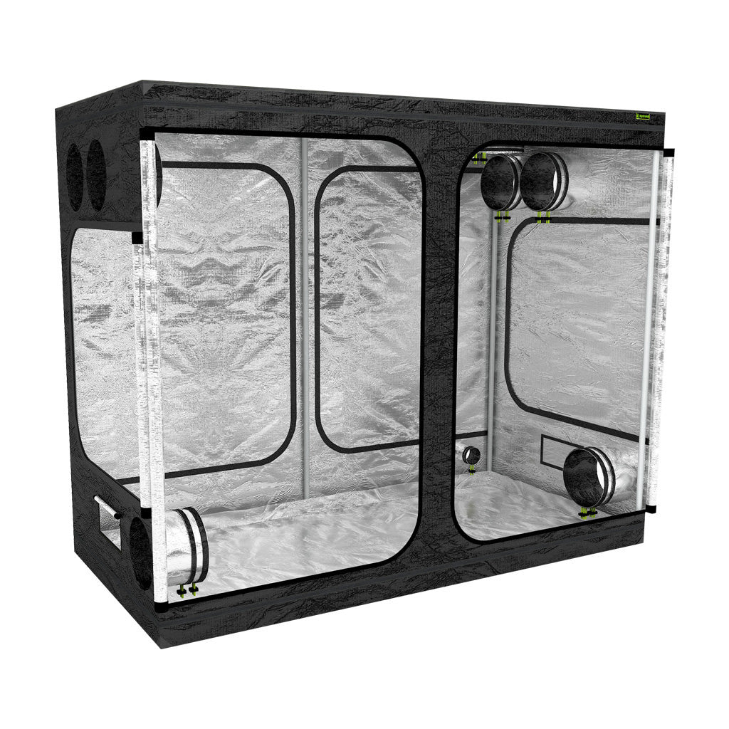 LAB240-S 2.4m x 1.2 x 2m Grow Tent | Left View  sc 1 th 225 & Grow Tents UK | 14 Indoor Grow Tent Sizes | Hydrolab
